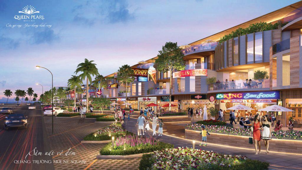 Queen Pearl đất nền Nhà phố hiện đại đích thực thiên đường xanh