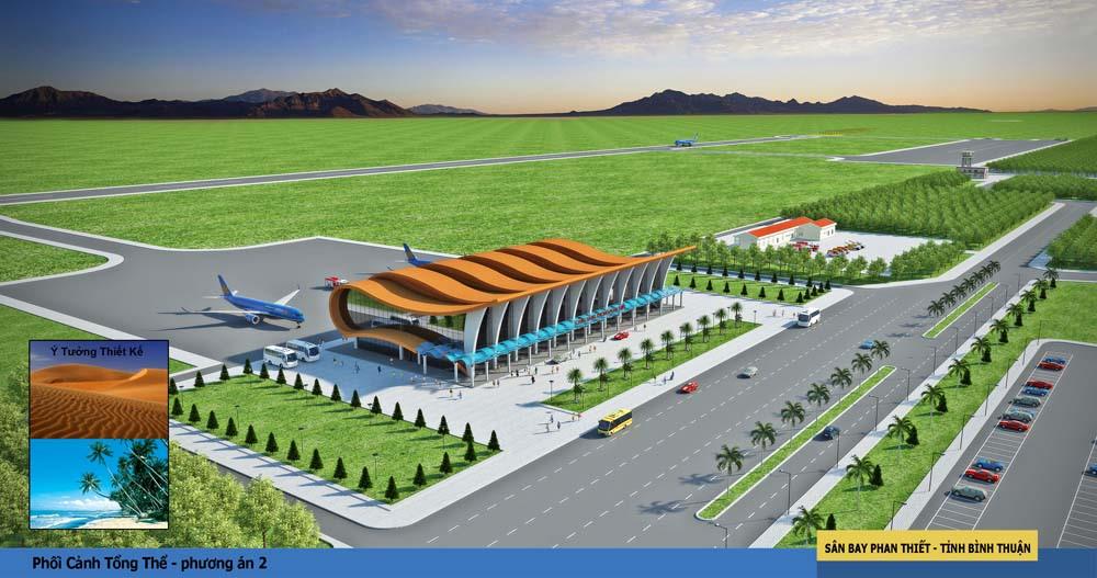 Thông Tin Quy hoạch Sân Bay Phan Thiết Mới Nhất