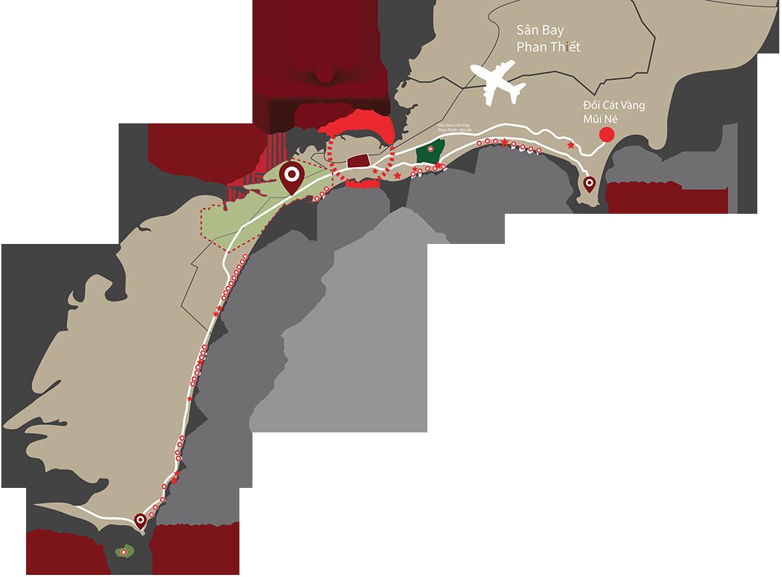 Dự án đất nền Queen Pearl Mũi Né Phan Thiết, quy hoạch tiềm năng cho tương lai